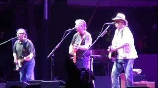 Buffalo Springfield opens show at Bonnaroo--On the Way Home--Live Saturday 2011-06-11