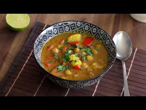 Tajski kokosov curry