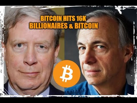 Billionaires & Bitcoin , Bitcoin hits 16k Again