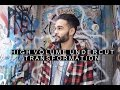 High Volume Undercut Hairstyle | Long to Medium Haircut Transformation | Radamel Falcao Inspired