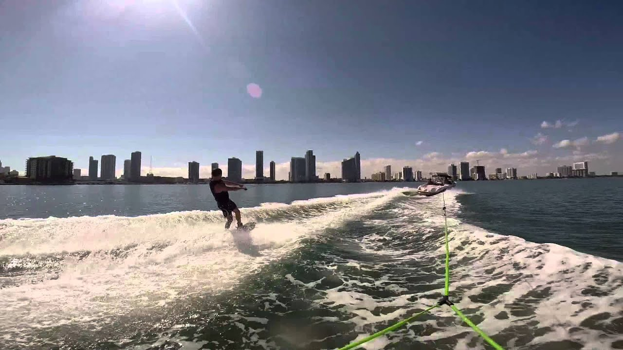 Wakeboarding In Miami Hd