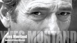 Yves Montand - Barbara