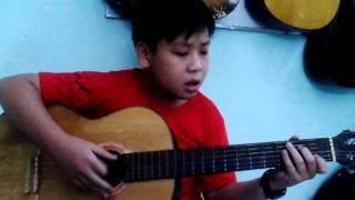 Em là bông hồng nhỏ(guitar cover) - phaolo music