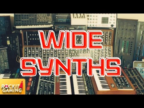 Make Wide Synths Like Maroon 5 | Rockit Gaming