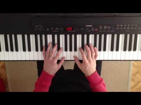 Curso de acordes para piano. Clase 1. Cómo tocar acordes mayores y menores en el piano