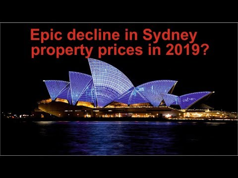 Epic decline in Sydney Australia property real estate housin