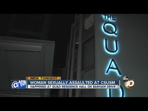Sex assault reported at Cal State San Marcos