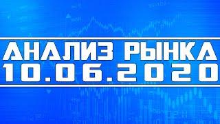 Анализ рынка 10.06.2020 + Технический анализ акций (спекуляции)