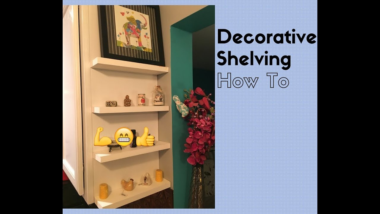 Beau DIY   How To Add Decorative Shelving To The Side Of Kitchen Cabinets