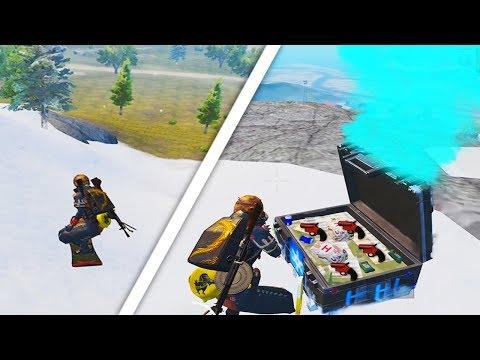 new-snow-erangel-+-new-chest-drop-|-pubg-mobile