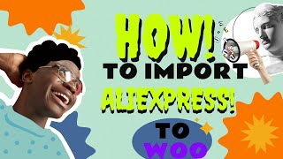 How to import simple product from Aliexpress to woocommerce using wooshark