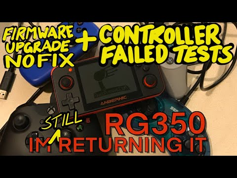 RG350 still has screen issues after Firmware Upgrade