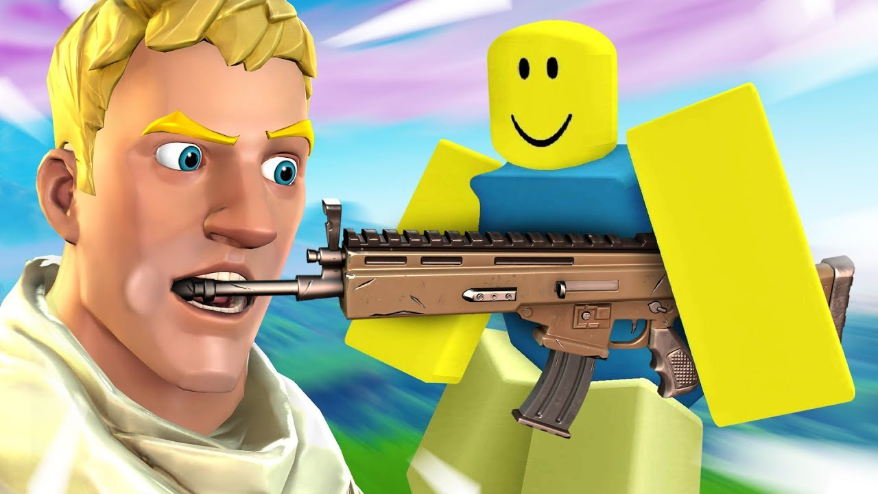 I played a FORTNITE ROBLOX RIPOFF... - YouTube