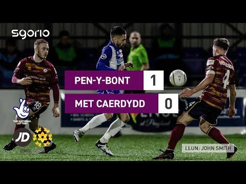 Penybont Cardiff Metropolitan Goals And Highlights