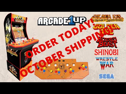 New Arcade1up: Golden Axe The Revenge of Death Adder Order now plus an in depth look at the game! from PsykoGamer
