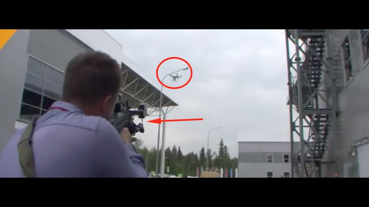 This Russian RIFLE can control any DRONE without firing ANY BULLET
