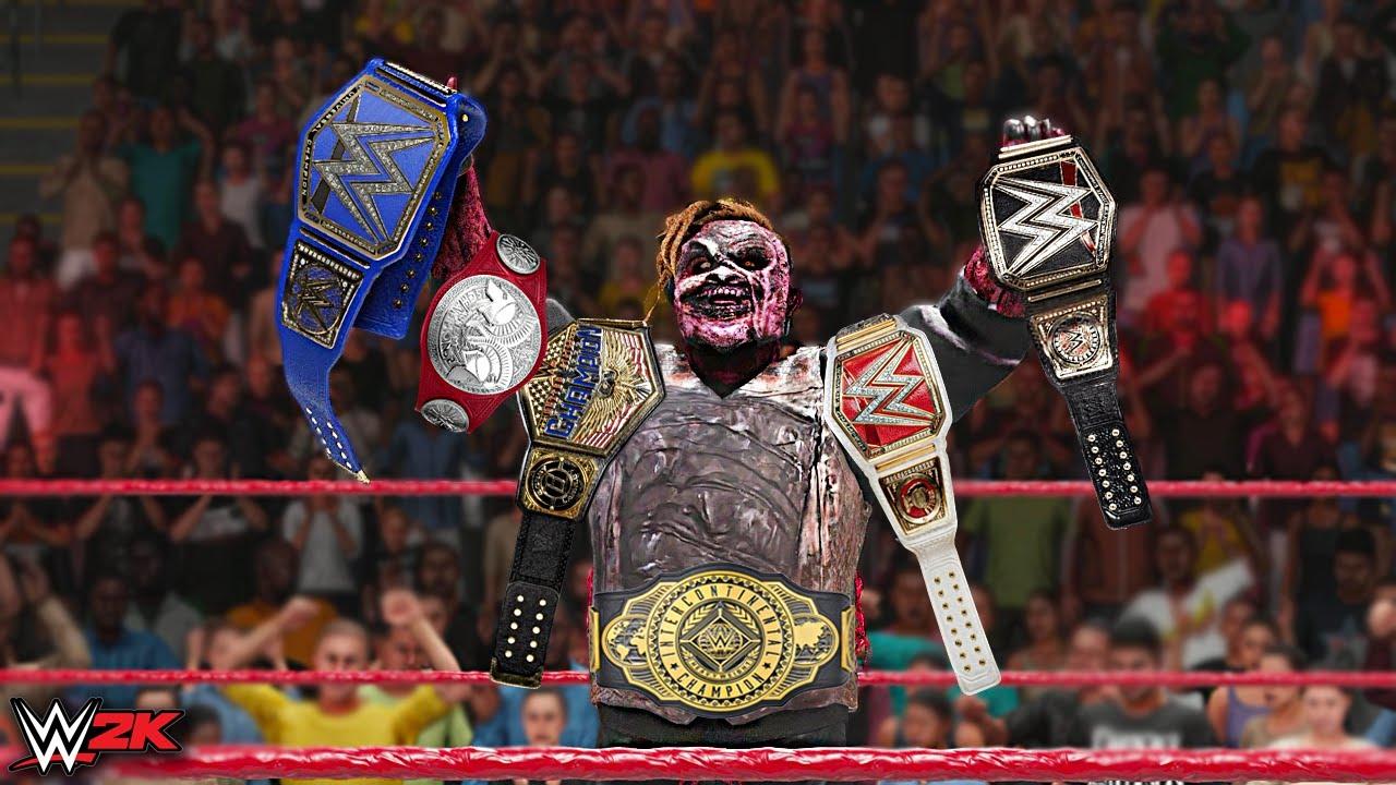THE FIEND WYATT Wins All Championships | WWE 2K Custom Story