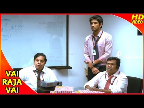 Vai Raja Vai Tamil Movie | Scenes | Gautham Predicts The Happenings Of A Meeting | Vivek | Mayilsamy