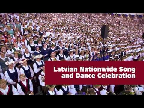 Latvian Nationwide Song and Dance Celebration