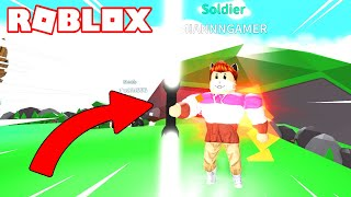 I ARRIVE TO SOLDIER RANGE in ROBLOX SIMULATOR KNOW! ⚔️