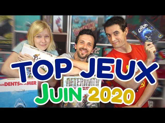 Les meilleurs jeux de société de Juin 2020 ☀️