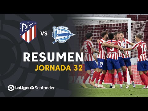 Atletico Madrid Alaves Goals And Highlights