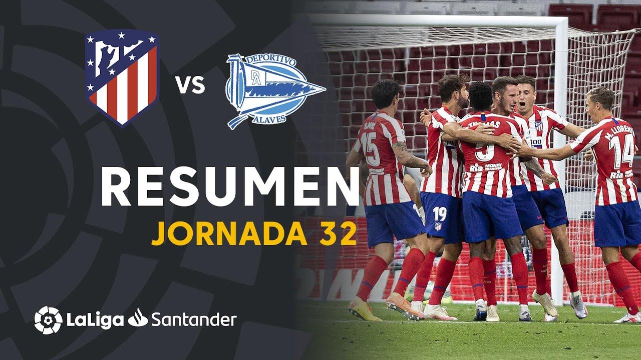 Атлетико  2-1  Алавес видео