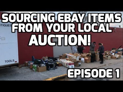 Sourcing Resale Items At The Auction For Selling On Ebay And Etsy