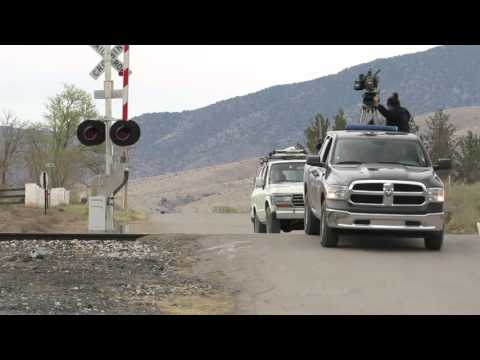 Shoot Santa Fe Filming Footage in Carrizozo, NM for a Samsung Road Trip Commercial