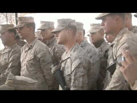 2nd Battalion, 6th Marines visited by Commandant and Sgt. Maj. of the Marine Corps