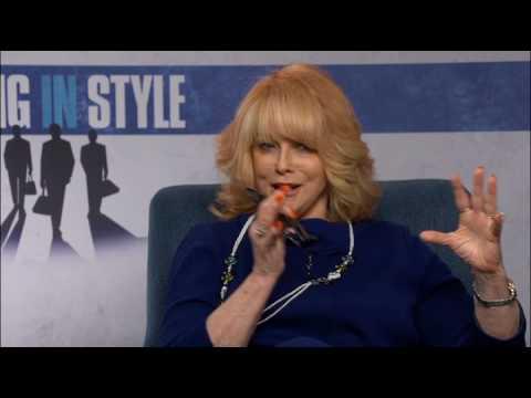 Going In Style - Ann Magret and Zach Braff interviews