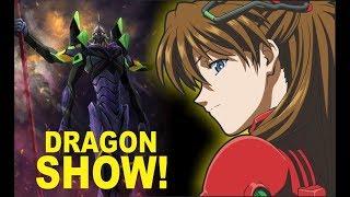 DragonShow! Nueva Película de Evangelion, Ending Dragon Ball Super y Santia Sho 9