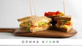 запеченый хлеб с мясопродуктами, яйцом и сыром - вкуснейшая горячая закуска!