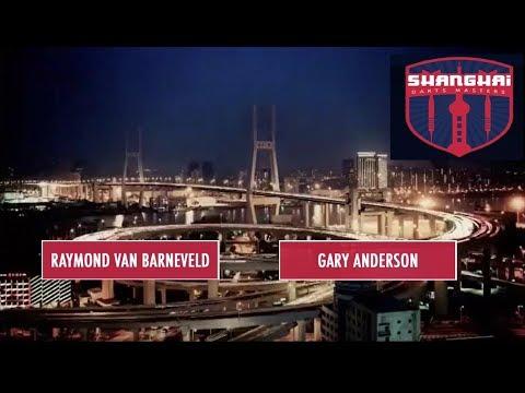 Shanghai Darts Masters 2017 QF Gary Anderson vs R. van Barneveld