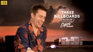 """It's super f*cked up and hilarious"" - Sam Rockwell chats about Three Billboards"
