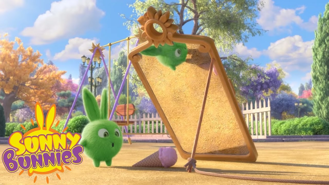 cartoons for children sunny bunnies magic mirror new season