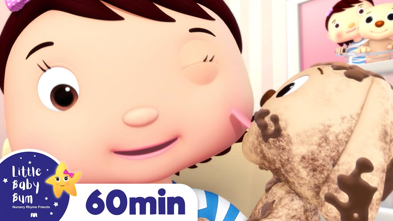 Little Puppy - I Love My Dog Song | +More Nursery Rhymes | ABCs and 123s | Little Baby Bum
