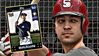 DIAMOND RYAN BRAUN DEBUT!! MLB THE SHOW 17 DIAMOND DYNASTY