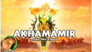 SUMMONERS WAR : Akhamamir - Nuke like a boss. (wind ifrit)