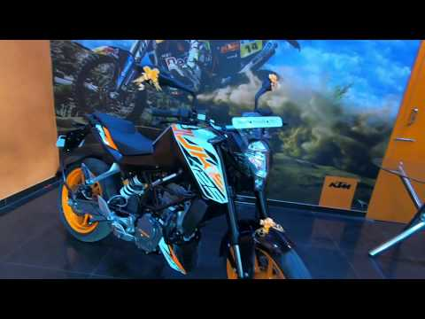KTM Duke 125 comes with Rear wheel Lift Protection - RLP as standard
