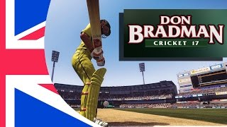 Don Bradman Cricket 17 Gameplay Review PC (Demo version)