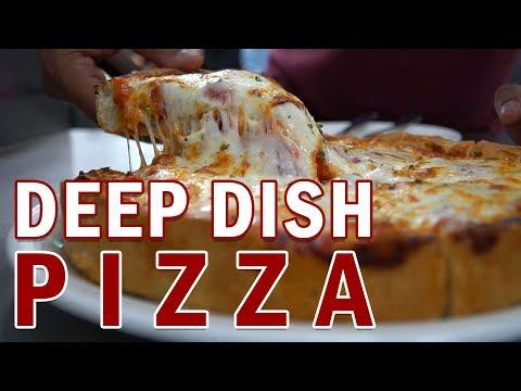 FULLY LOADED DEEP DISH PIZZA At UNO Doha, Qatar