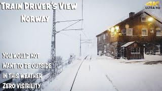 Фото Train Driverand39s View Whiteout