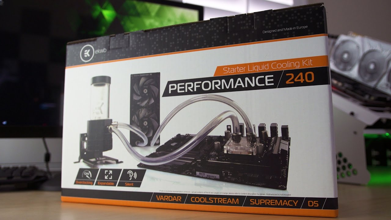 EK Performance 240 - Complete Custom Watercooling Kit