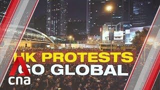 Rallies held around the world to show solidarity with Hong Kong thumbnail