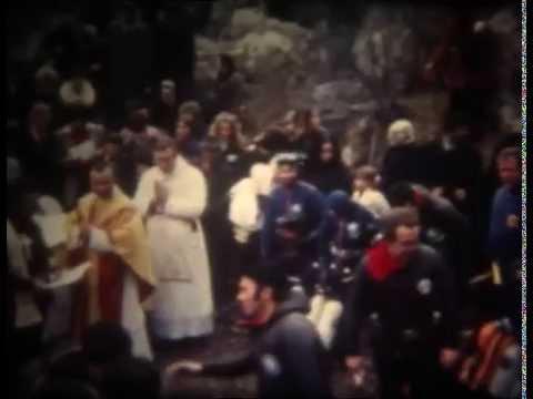 Natale Subacqueo Lago di Cornino 1974