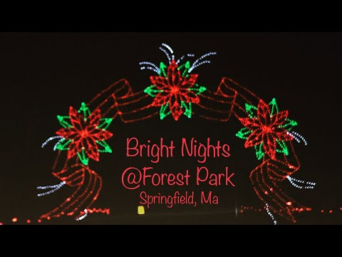Bright Nights @ Forest Park | Ongoing Holiday Lighting Event , Springfield Ma