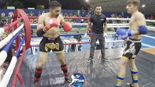 TV THAI   Luís ( Mhuray ) vs Victorino ( Show Thai ) Ram Muay 8