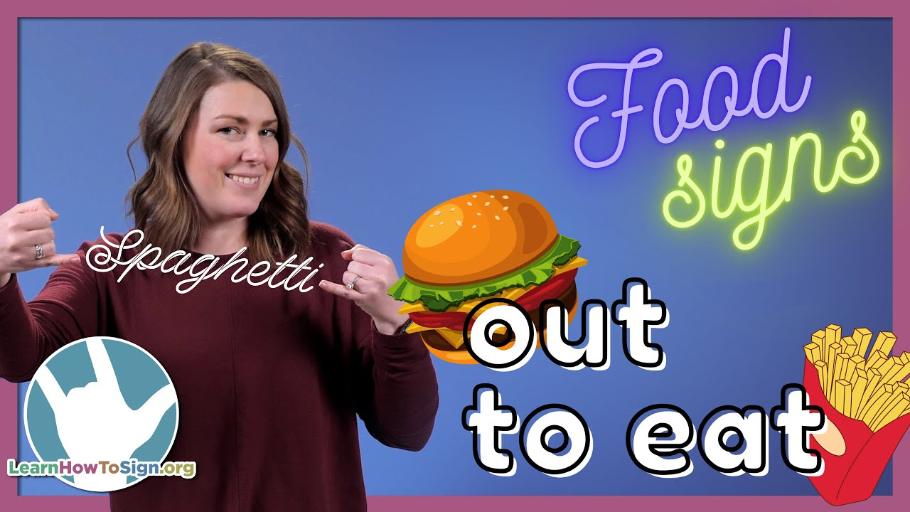 Learn Food Signs in ASL | Out to Eat Signs | Pt. 3
