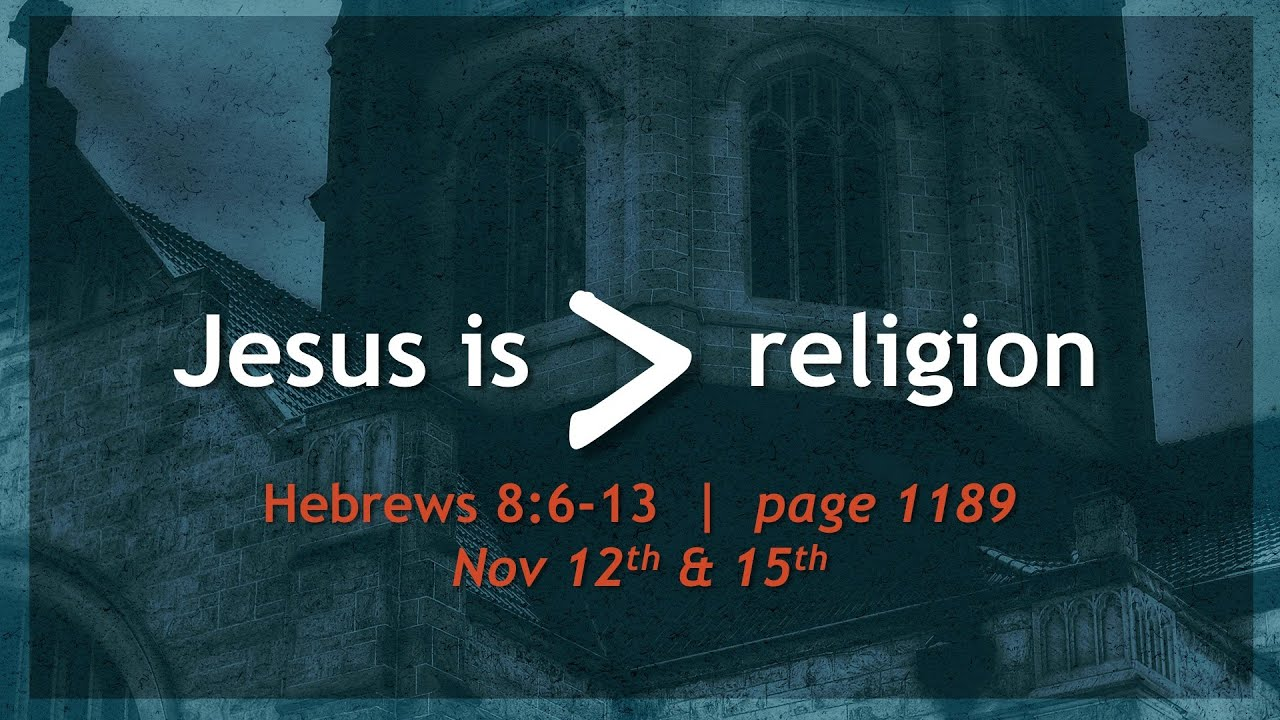 jesus is greater than religion youtube